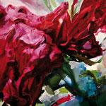 Saliva de noche, 2008, óleo sobre papel, 76,5x57 cm