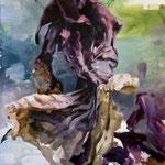 La nada, 2009, óleo sobre papel, 76,5x57 cm