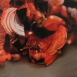 Posición temporal, 2004, óleo sobre lienzo, 195x150 cm