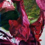 Triste materia, 2008, óleo sobre papel, 76,5x57 cm
