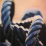 Bucle, 2005, óleo sobre lienzo, 60x60 cm