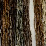 Rechenmaschine der Inkas, anhand der Knoten kann man die Wertstellung erkennen