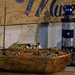 Streichhölzer Boot