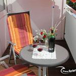 Ferienwohnung C3 mit Balkon für 2 Personen Cuxhaven Duhnen