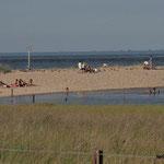 Baden, Strand und Nordsee in Cuxhaven