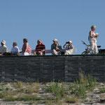 Schiffe beobachten in Cuxhaven
