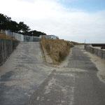 """Am Ende der Duhner Strand Promenade gehts zur """"Düne"""" und in den Dünenweg"""
