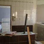 La salle de bain des propriétaires des chambres dhôtes le blockhaus