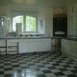 La cuisine de la maison d'hôtes le blockhaus