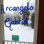 La neve fuori dallo Studio Olistico di Rovigo