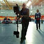 Oefenen met de Steady Cam - Olympische Spelen - Sochi '2014