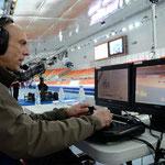 Olympische Spelen / Flighthead bediening Technocrane 30 - Sochi '2014