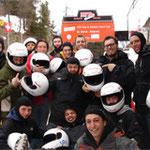 Bobslee TV crew - ST Moritz '2008