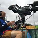 Cameraman Olympische Spelen Rio
