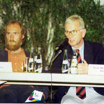 Podiumsdiskussion mit Prof. Hans-Gert Pöttering, MdEP, Mai 1998 in Osnabrück