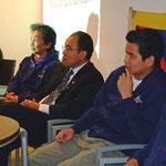 Pressekonferenz des Team Tibets in Tübingen [01.12.2007]