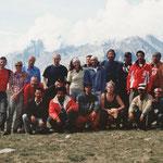 Trekking-Gruppe in Spiti