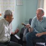 Interview mit Wangchuk Tsering, dem letzten Vertreter S. H. des Dalai Lama in Katmandu, Juni 2004