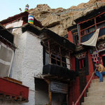 Das Höhlenkloster Trakthok im Shakti-Tal, Ladakh
