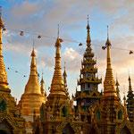 Reiseziel in Myanmar: Yangon