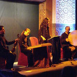 Formación cuarteto / Concierto en Fundación Tres Culturas