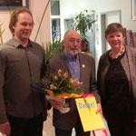 Werner Mülders wurde für 30jährige Mitgliedschaft geehrt