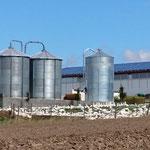 Getreide Lagerung