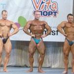 Сравнение категории св.90 кг. Герман-Баринов-Филиппычев. Широчайшие спереди