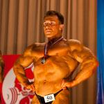 II место в категории свыше 90 кг.