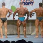Сравнение категории св.90 кг. Герман-Баринов-Филиппычев. Пропорции сзади