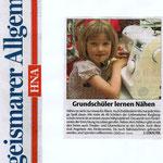 Titelseite Hofgeismarer Allgemeine HNA vom 28.05.2014