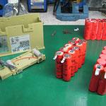 ライカ デジタルレベル用バッテリ GEB79 セル交換