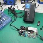 トプコン充電器(BC‐20AR) 基板修理