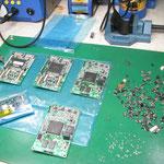 ソキア トータルステーション用メイン基板修理