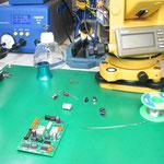 トプコン GTS-3Ⅱ 電源部修理