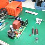 ソキア レーザセオドライト用外部電源修理
