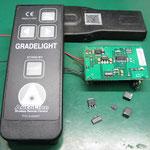 ソキア パイプレーザ(GL2500)用リモコン 基板修理