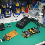 ペンタックス充電器 (MC02) 基板修理