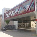 2001 Oficinas estación autobús Binéfar. (Huesca)