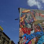 Graffiti Art - somewhere in TRIBECA . . .:)