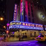 The legendary Radio City Hall  [NEW YORK/USA]
