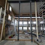 Schochofen Schlosserei - Stahlträger Bausubstanz