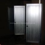 puertas con duela de aluminio