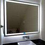 espejo con luz led