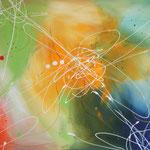 Farbenverwandlung, 100 x 80 cm, Acryl auf Leinwand, Teil 4 des Serienbildes Verwandlung-mA
