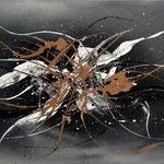 Copperliner, 80 x 40 cm, Acryl auf Leinwand - Verkauft