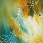 Verwandlungskunst, 60 x 80 cm, Acryl auf Leinwand, Teil 1 des Serienbildes Verwandlung-mA