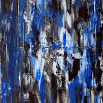 Wassermänner, 60 x 80 cm, Acryl auf Leinwand