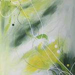 irisierende Verwandlung, 60 x 80 cm, Acryl auf Leinwand