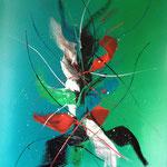 YesterDay, 60 x 80 cm, Acryl auf Leinwand - Verkauft